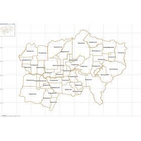 Квартальная сетка Богучанский район