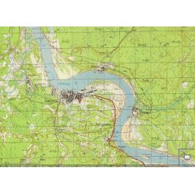 Карта Красноярского края и Хакасии
