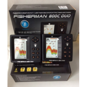 Эхолот JJ-Connect Fisherman 800C Duo 2-х лучевой