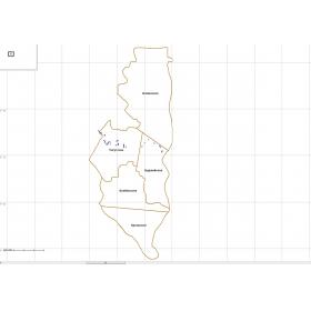 Квартальная сетка Манский район